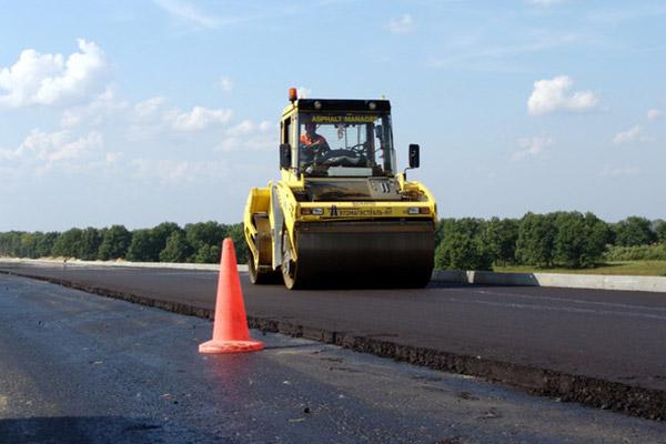 Дорожные работы в Воронеже